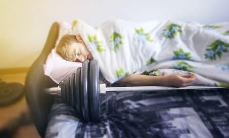 Richtig Schlafen für mehr Muskelaufbau