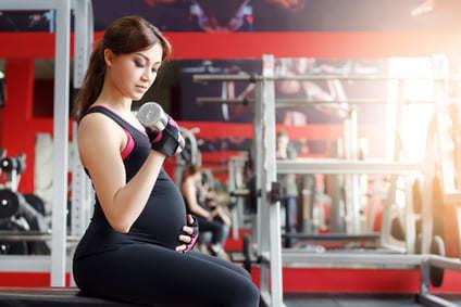 Krafttraining in der Schwangerschaft Sport