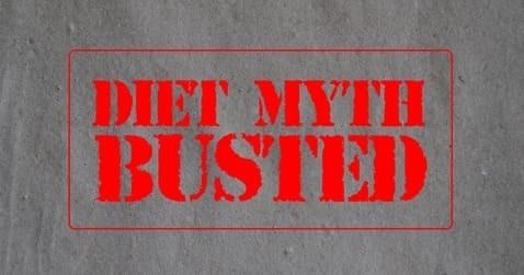 Diät Mythen