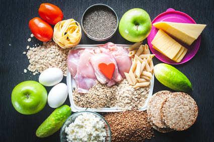 Ernährungsplan für den Muskelaufbau