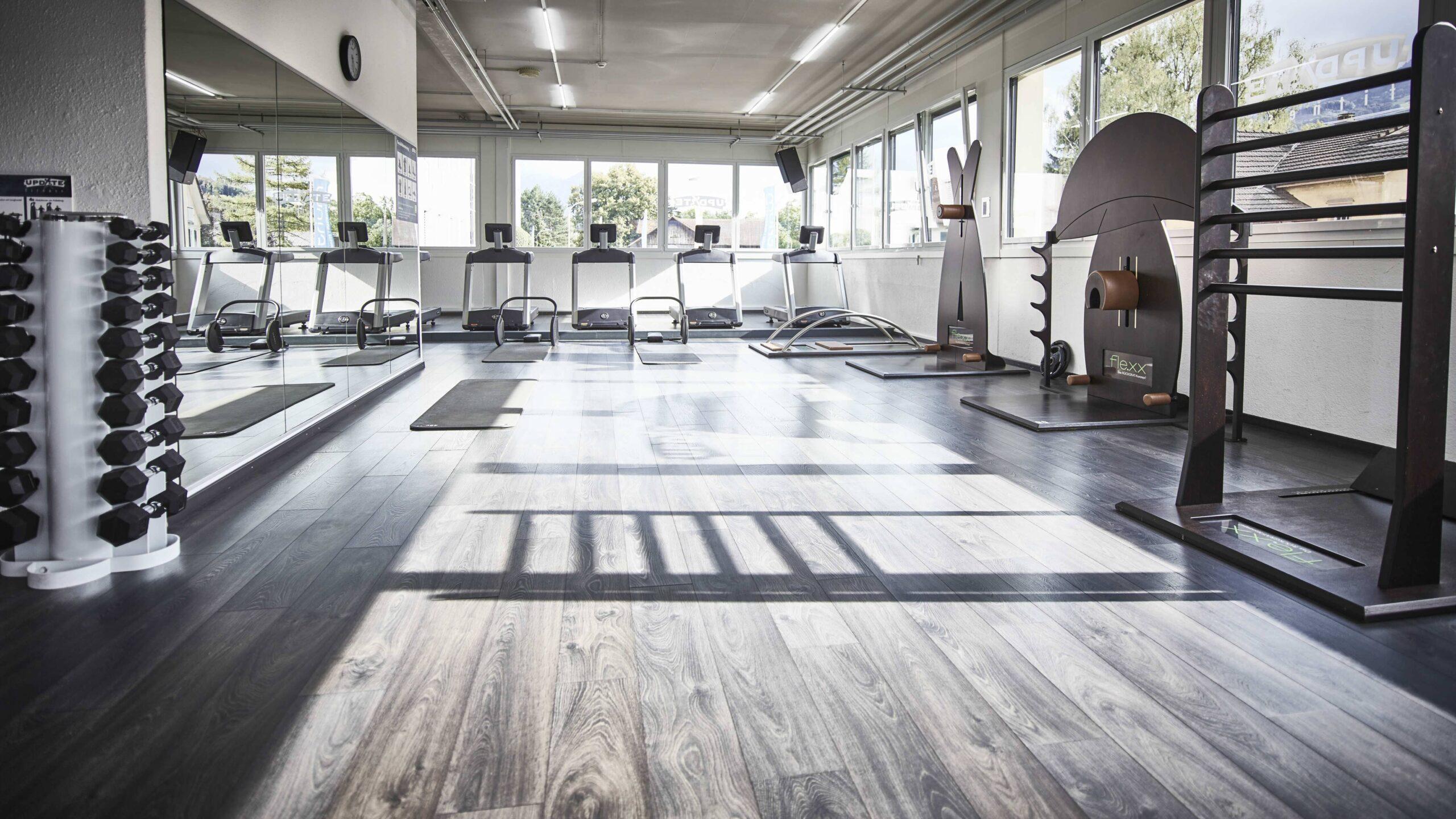 update Fitness Buchs_Ausdauer_Tag der offenen Tür