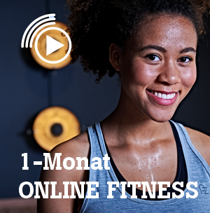Online-Fitness 1 Monat