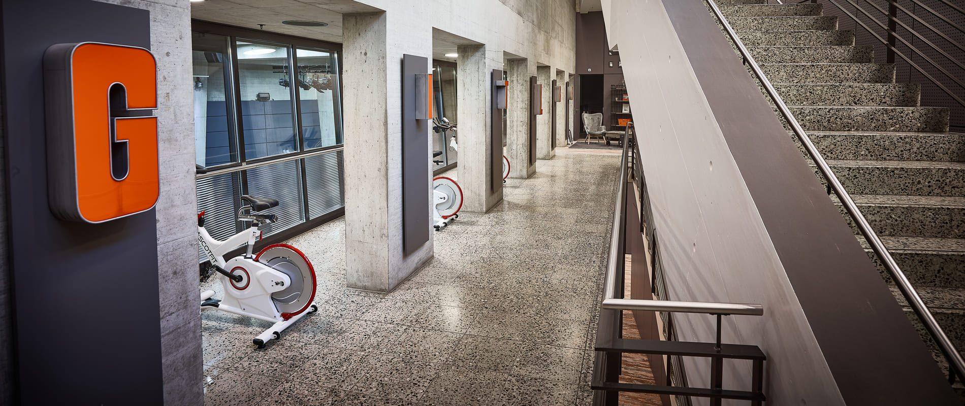 update Fitness Basel Gundeli - 2. Etage