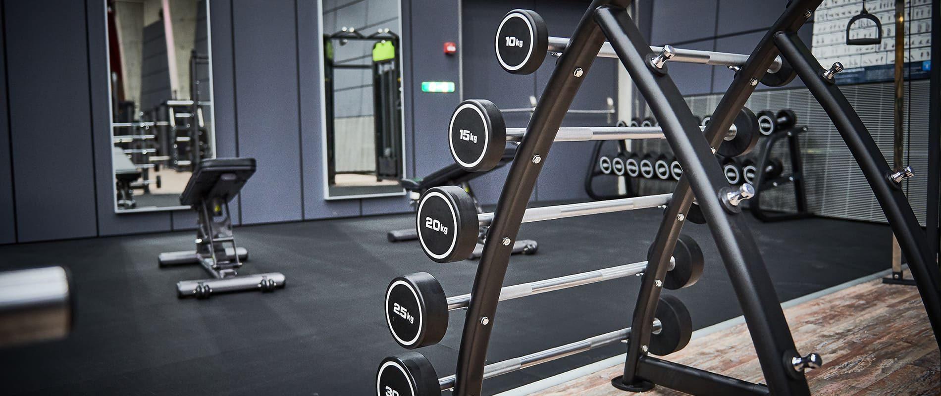 update Fitness Basel Gundeli - Freihantelbereich